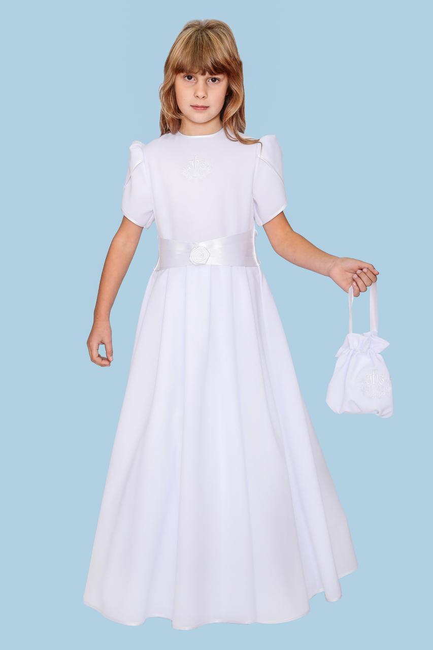d658ec011f Sukienka komunijna bufka - Szaty liturgiczne