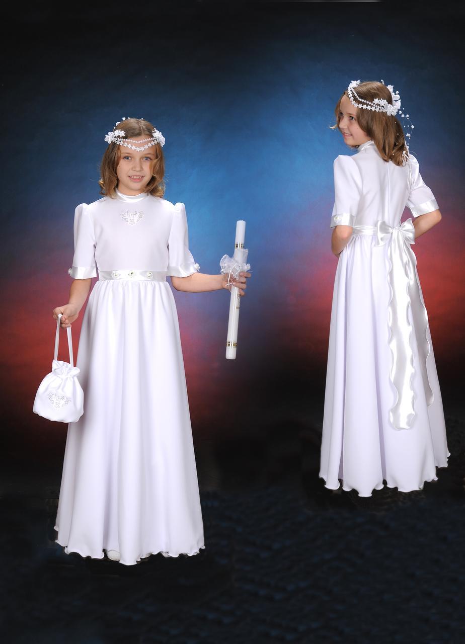 7709382b90 Sukienka komunijna żyłka - Szaty liturgiczne